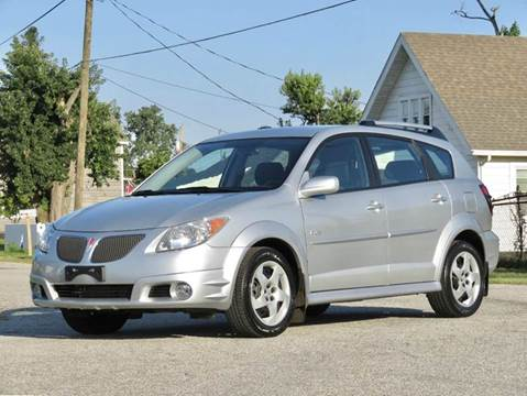 2007 Pontiac Vibe for sale at Tonys Pre Owned Auto Sales in Kokomo IN