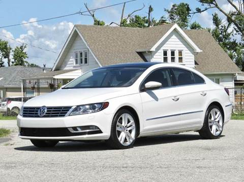 2013 Volkswagen CC for sale at Tonys Pre Owned Auto Sales in Kokomo IN