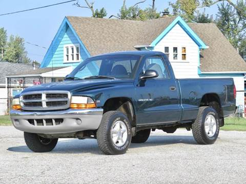 1998 Dodge Dakota for sale at Tonys Pre Owned Auto Sales in Kokomo IN