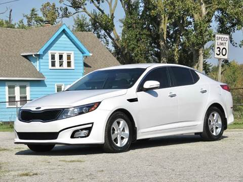 2014 Kia Optima for sale at Tonys Pre Owned Auto Sales in Kokomo IN