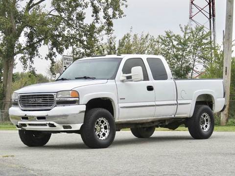 2001 GMC Sierra 2500HD for sale at Tonys Pre Owned Auto Sales in Kokomo IN