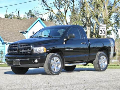 2005 Dodge Ram Pickup 1500 for sale at Tonys Pre Owned Auto Sales in Kokomo IN