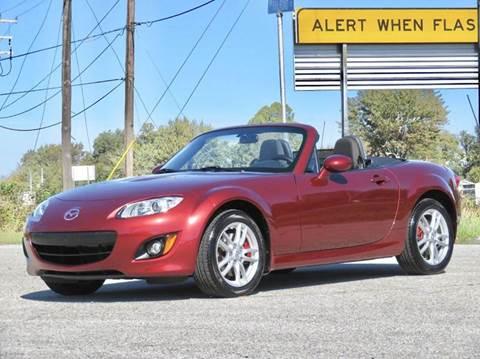 2012 Mazda MX-5 Miata for sale at Tonys Pre Owned Auto Sales in Kokomo IN