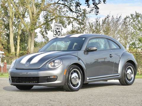 2012 Volkswagen Beetle for sale at Tonys Pre Owned Auto Sales in Kokomo IN