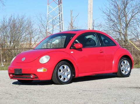 2002 Volkswagen New Beetle for sale at Tonys Pre Owned Auto Sales in Kokomo IN