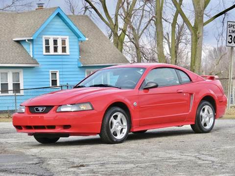 2004 Ford Mustang for sale at Tonys Pre Owned Auto Sales in Kokomo IN