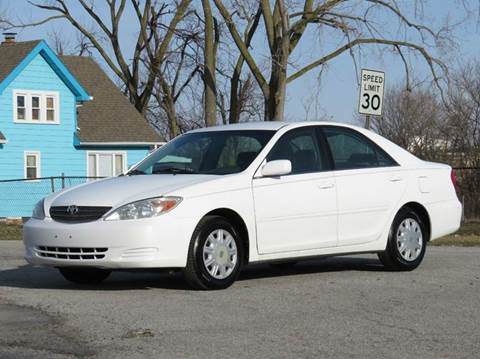2002 Toyota Camry for sale at Tonys Pre Owned Auto Sales in Kokomo IN