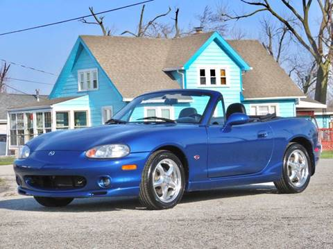 1999 Mazda MX-5 Miata for sale at Tonys Pre Owned Auto Sales in Kokomo IN