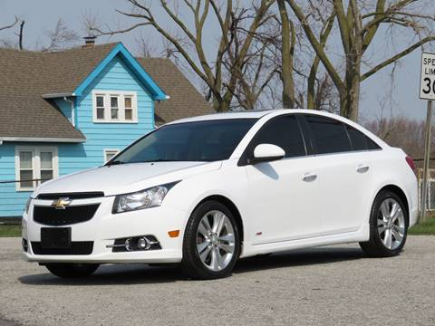 2011 Chevrolet Cruze for sale at Tonys Pre Owned Auto Sales in Kokomo IN