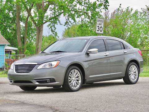2013 Chrysler 200 for sale at Tonys Pre Owned Auto Sales in Kokomo IN