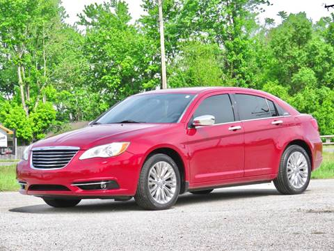 2012 Chrysler 200 for sale at Tonys Pre Owned Auto Sales in Kokomo IN