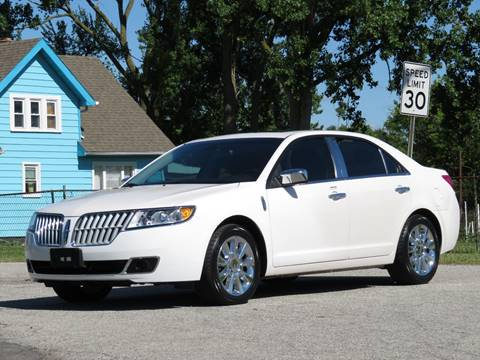 2012 Lincoln MKZ for sale at Tonys Pre Owned Auto Sales in Kokomo IN