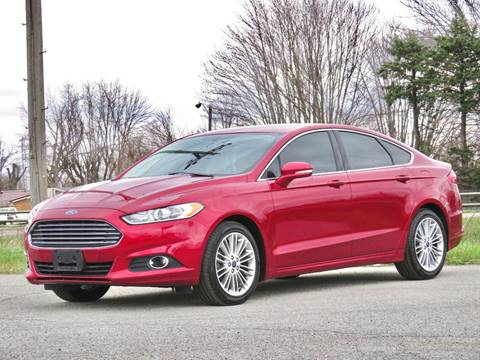 2013 Ford Fusion for sale at Tonys Pre Owned Auto Sales in Kokomo IN