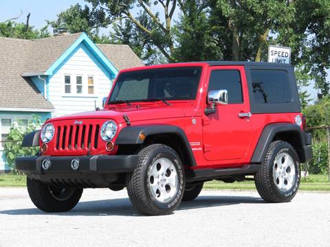 2010 Jeep Wrangler for sale at Tonys Pre Owned Auto Sales in Kokomo IN