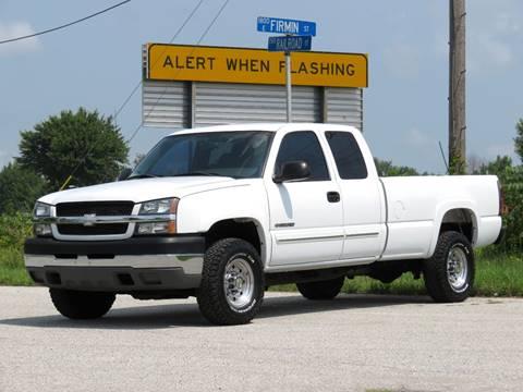 2004 Chevrolet Silverado 2500HD for sale at Tonys Pre Owned Auto Sales in Kokomo IN