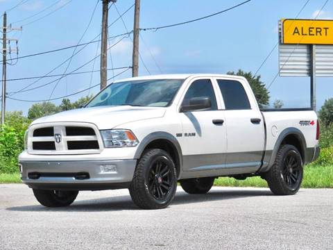 2009 Dodge Ram Pickup 1500 for sale at Tonys Pre Owned Auto Sales in Kokomo IN