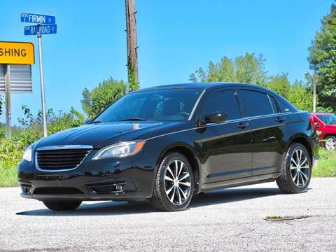 2011 Chrysler 200 for sale at Tonys Pre Owned Auto Sales in Kokomo IN