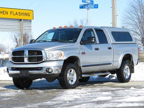2007 Dodge Ram Pickup 2500 SLT for sale at Tonys Pre Owned Auto Sales in Kokomo IN