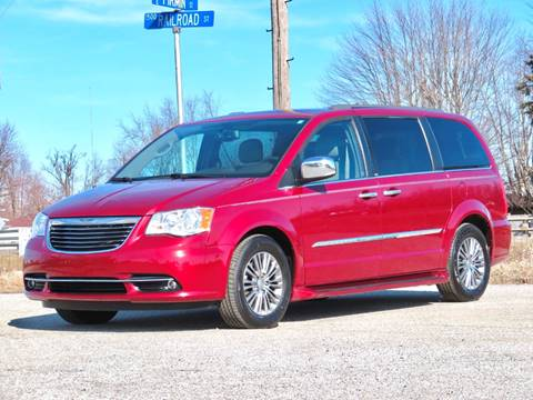 2014 Chrysler Town and Country Touring-L for sale at Tonys Pre Owned Auto Sales in Kokomo IN