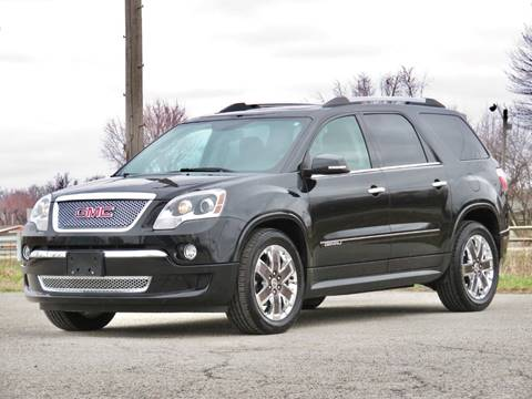 2012 GMC Acadia Denali for sale at Tonys Pre Owned Auto Sales in Kokomo IN