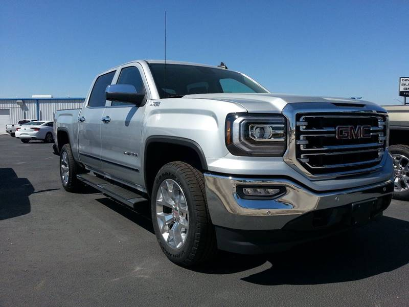 2017 Gmc Sierra 1500 4x4 SLT 4dr Crew Cab 5.8 ft. SB In ...