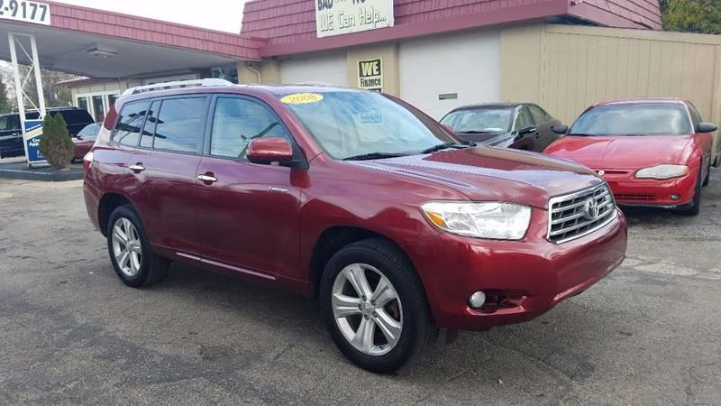 2008 Toyota Highlander AWD Limited 4dr SUV - Indianapolis IN