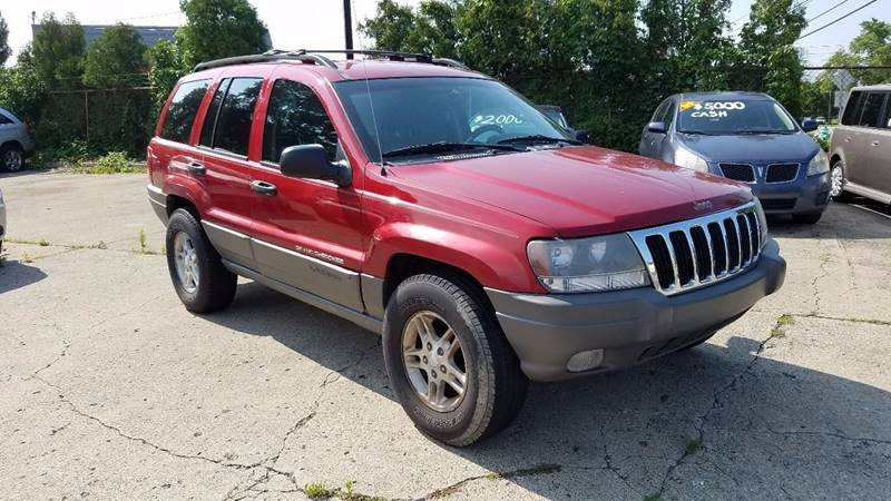 2002 Jeep Grand Cherokee 4dr Laredo 4WD SUV - Indianapolis IN