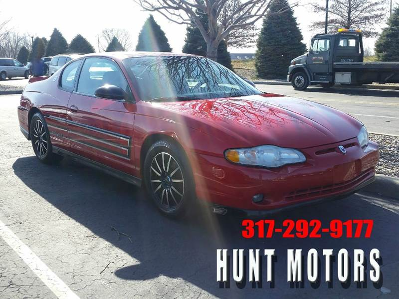 2004 Chevrolet Monte Carlo SS Supercharged 2dr Coupe - Indianapolis IN