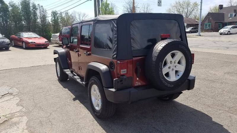 2007 Jeep Wrangler Unlimited 4x4 X 4dr SUV - Indianapolis IN