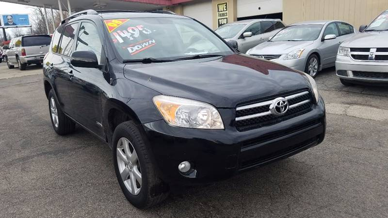 2008 Toyota RAV4 Limited 4dr SUV - Indianapolis IN