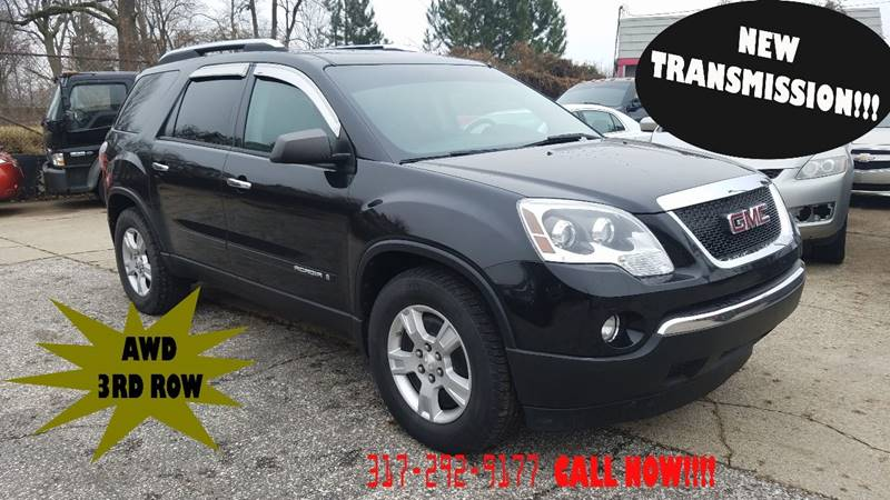 2008 GMC Acadia AWD SLE-1 4dr SUV - Indianapolis IN