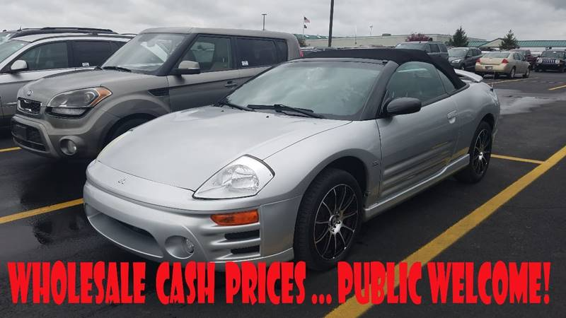 2003 Mitsubishi Eclipse Spyder GTS 2dr Convertible - Indianapolis IN