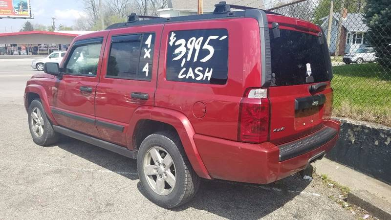 2006 Jeep Commander 4dr SUV 4WD - Indianapolis IN