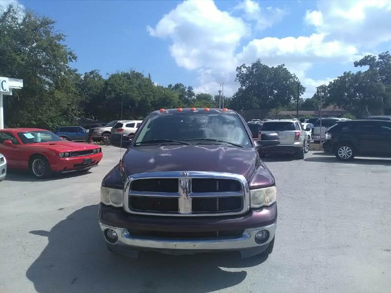 2005 Dodge Ram Pickup 3500 for sale at BULLSEYE MOTORS INC in New Braunfels TX