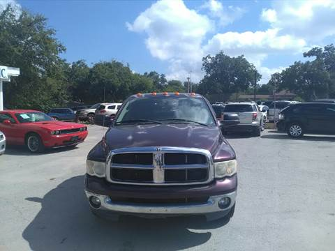 2005 Dodge Ram Pickup 3500 for sale at BULLSEYE MOTORS INC in New Braunfels TX