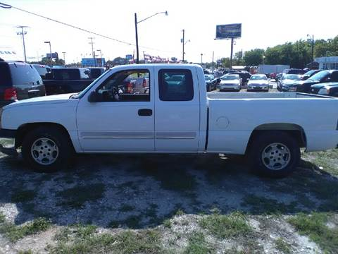 2004 Chevrolet Silverado 1500 for sale at BULLSEYE MOTORS INC in New Braunfels TX