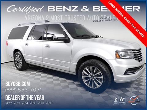 2015 Lincoln Navigator L for sale in Scottsdale, AZ