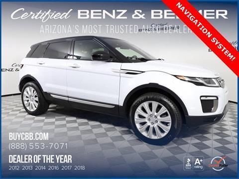 Range Rover Scottsdale >> 2016 Land Rover Range Rover Evoque For Sale In Scottsdale Az
