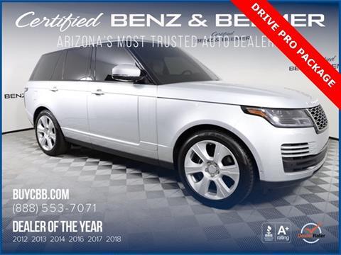 2019 Land Rover Range Rover for sale in Scottsdale, AZ