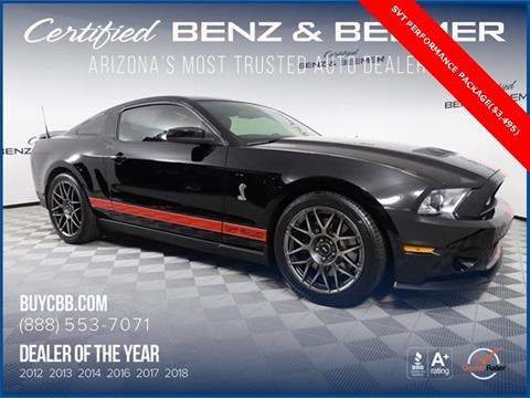 2011 Ford Shelby GT500 for sale in Scottsdale, AZ