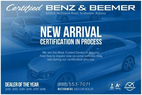 2014 Tesla Model S for sale at Certified Benz and Beemer in Scottsdale AZ