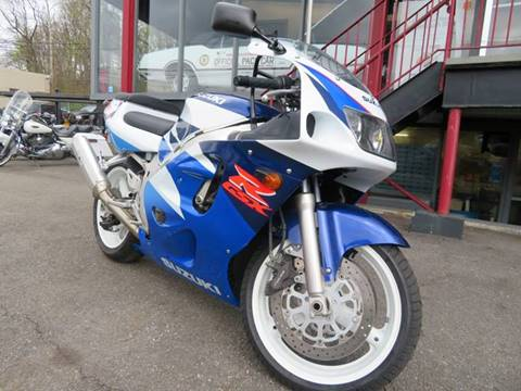 1997 Suzuki GSX-R600 for sale at PALISADES AUTO SALES in Nyack NY