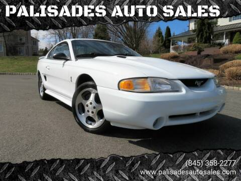 1996 Ford Mustang SVT Cobra for sale at PALISADES AUTO SALES in Nyack NY
