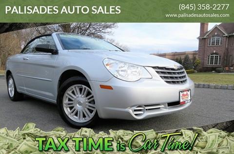 2008 Chrysler Sebring LX for sale at PALISADES AUTO SALES in Nyack NY