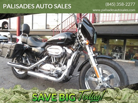 2013 Harley-Davidson XL1200 C Sportster for sale at PALISADES AUTO SALES in Nyack NY