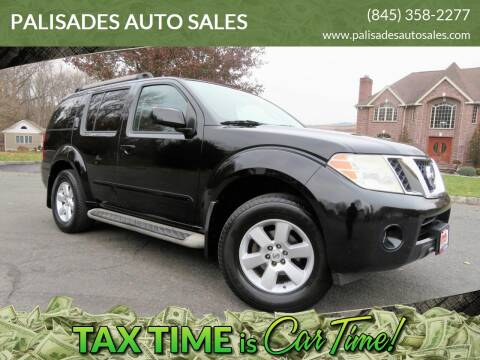 2010 Nissan Pathfinder SE for sale at PALISADES AUTO SALES in Nyack NY