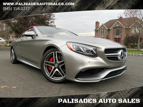 2017 Mercedes-Benz S-Class AMG S 63 for sale at PALISADES AUTO SALES in Nyack NY