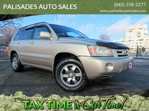 2005 Toyota Highlander Limited for sale at PALISADES AUTO SALES in Nyack NY