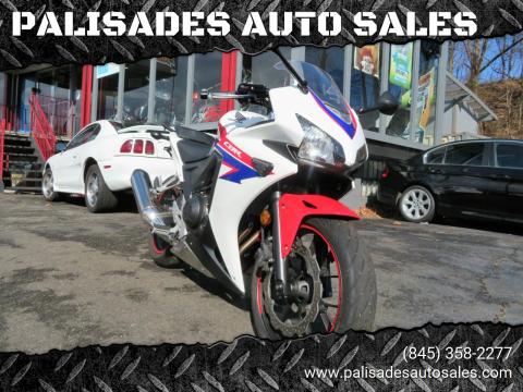 2013 Honda CBR500R for sale at PALISADES AUTO SALES in Nyack NY