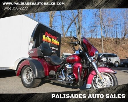 2016 Harley-Davidson FLHTCUTG / TRI GLIDE ULTRA for sale at PALISADES AUTO SALES in Nyack NY